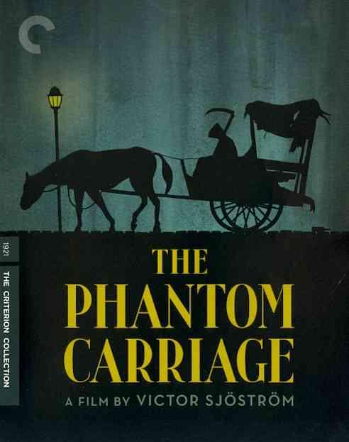 PHANTOM CARRIAGE BY SJOSTROM,VICTOR (Blu-Ray)